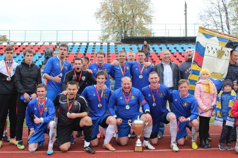 «Волочанин» всех порвал и забрал кубок Тверской области по футболу