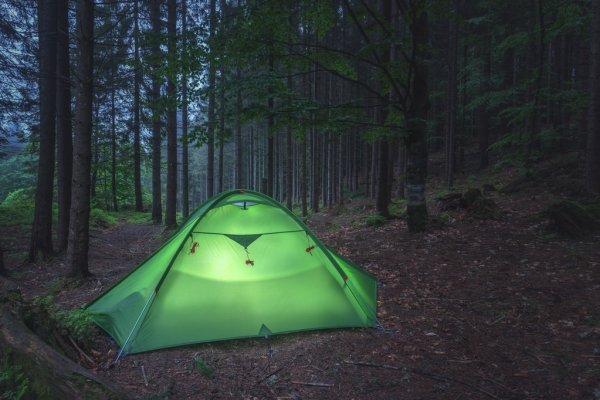 В Нелидовском районе детей научат ставить палатки