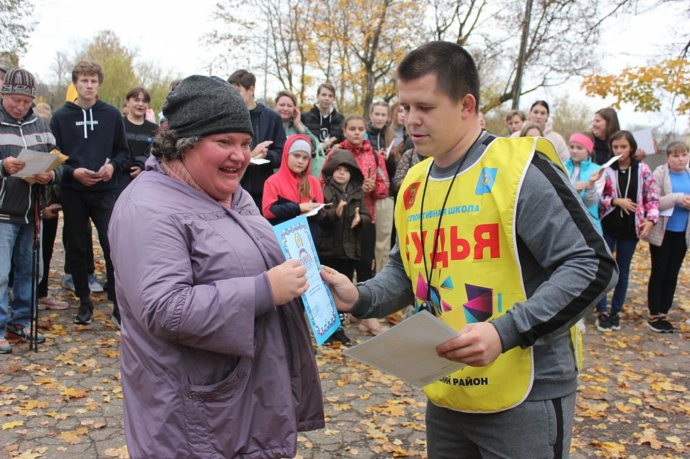 Почти 100 жителей района Тверской области приняли участие в «Дне ходьбы»