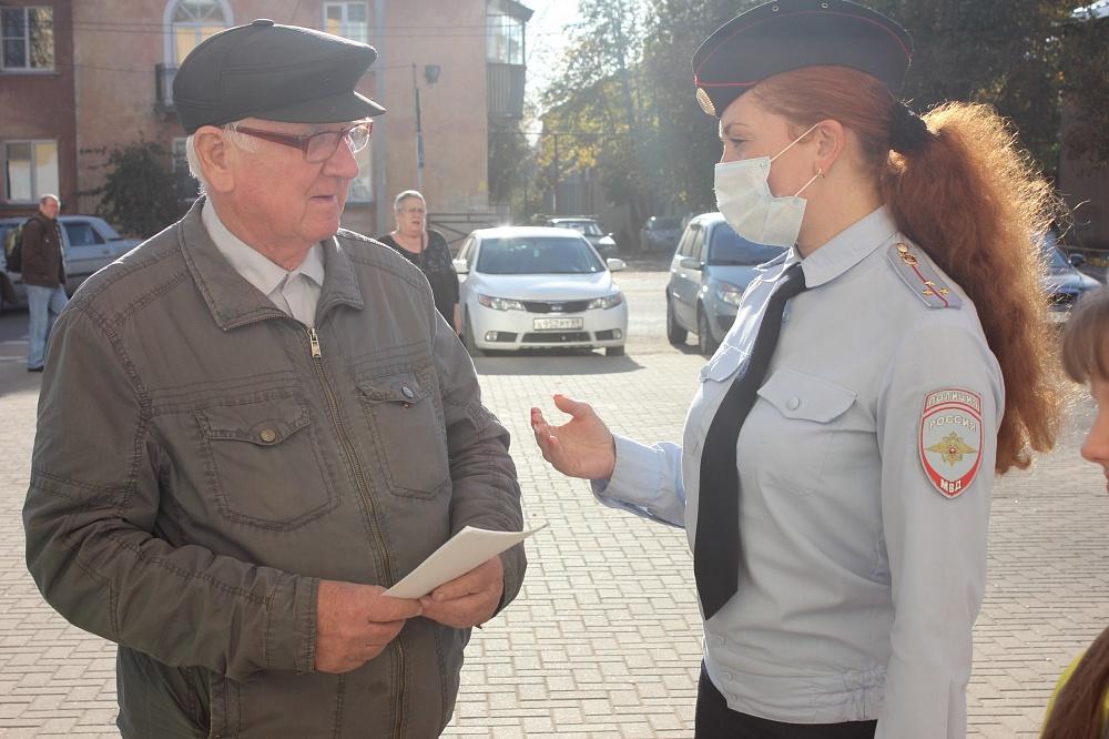 В городе Тверской области прошла акция «С заботой о старшем поколении»