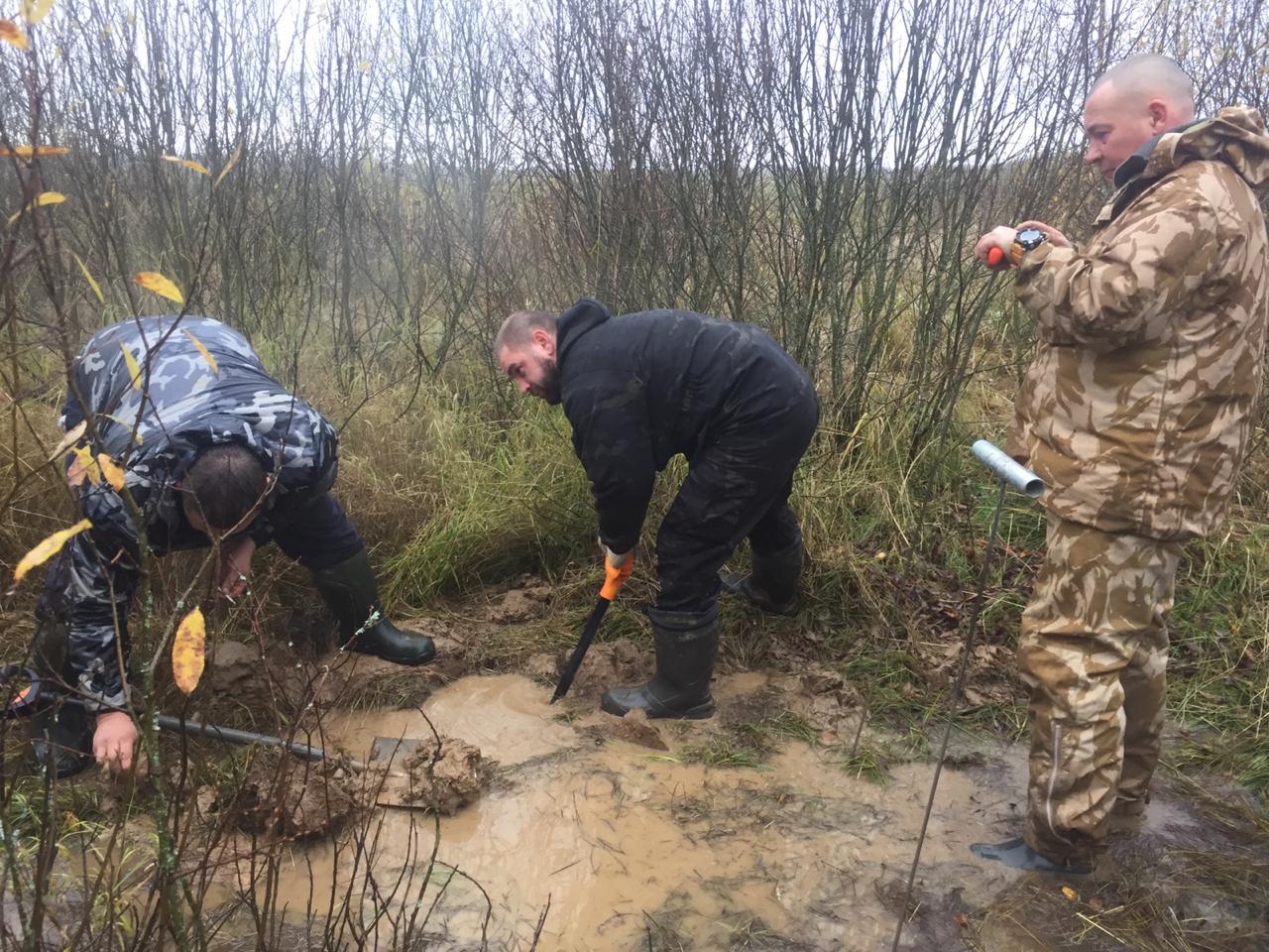Останки семи красноармейцев в тулупах и валенках нашли в Тверской области