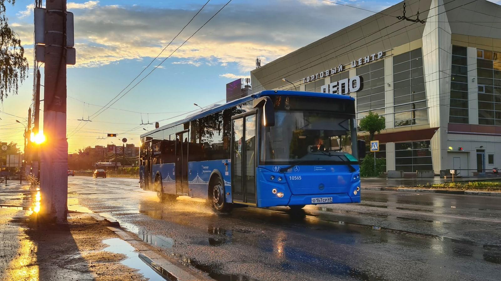 Тверские школьники проехались на синих автобусах 78 тысяч раз