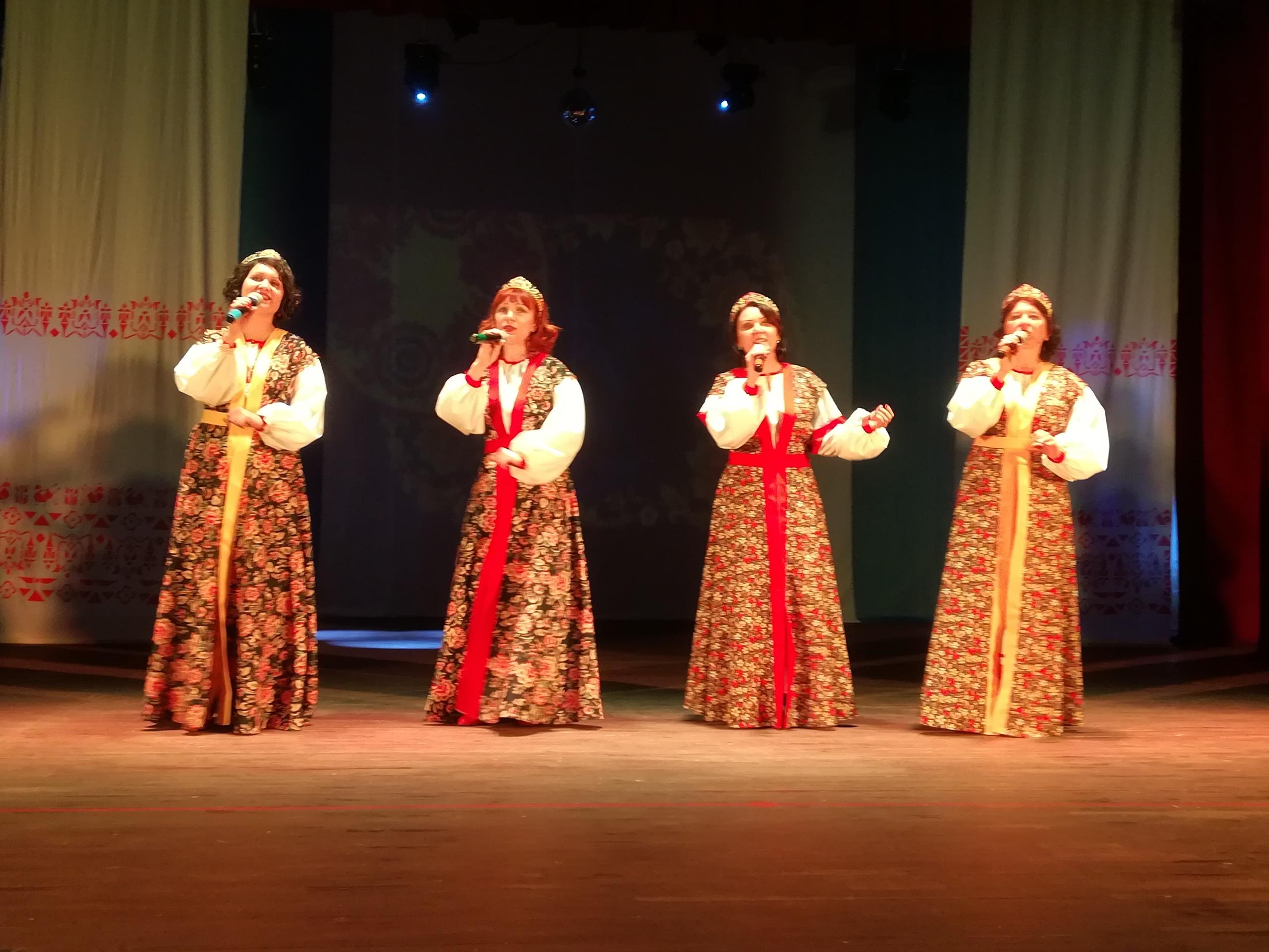 В Западнодвинском районе на концерте пели настоящие народные песни