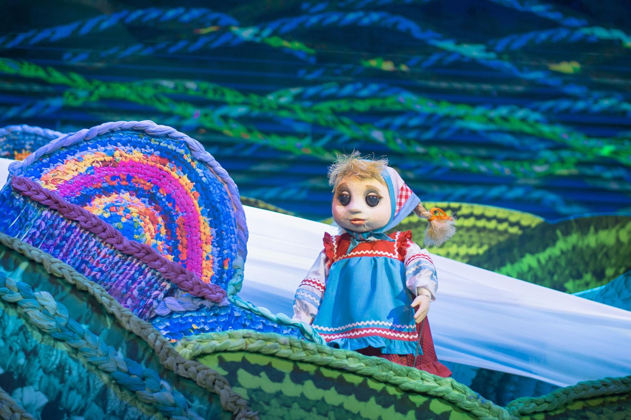 В Твери Рязанский театр кукол покажет спектакль «Гуси-лебеди»