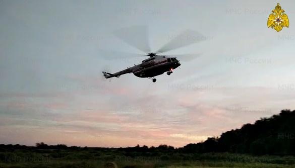 Вертолет санавиации экстренно доставил в Тверь тяжелобольного мужчину