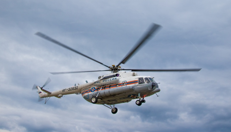 Вертолет санавиации эвакуировал пациента из Удомли