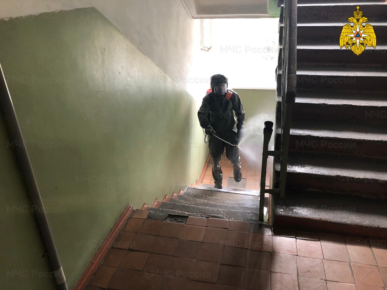 Общежитие Тверского колледжа культуры продезинфицировали от коронавируса