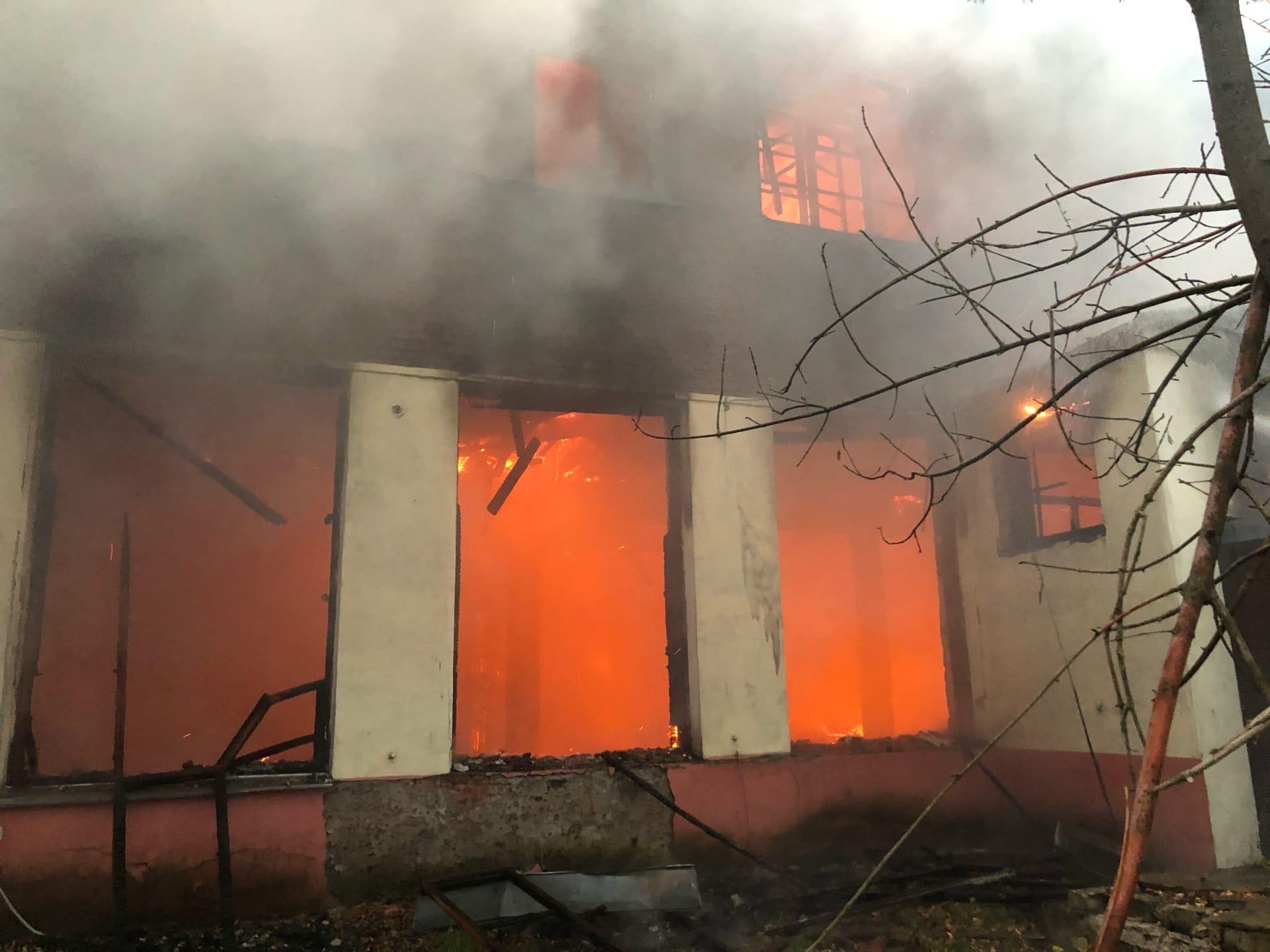 В Твери, спустя несколько дней, вновь горит химбаза