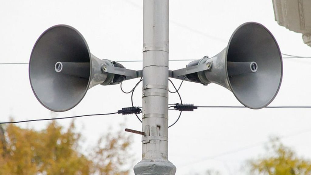 Спокойствие: проверку сирен безопасности в Тверской области отменили