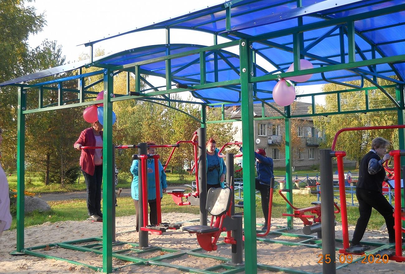 В ряде районов Тверской области открываются современные спортивные площадки