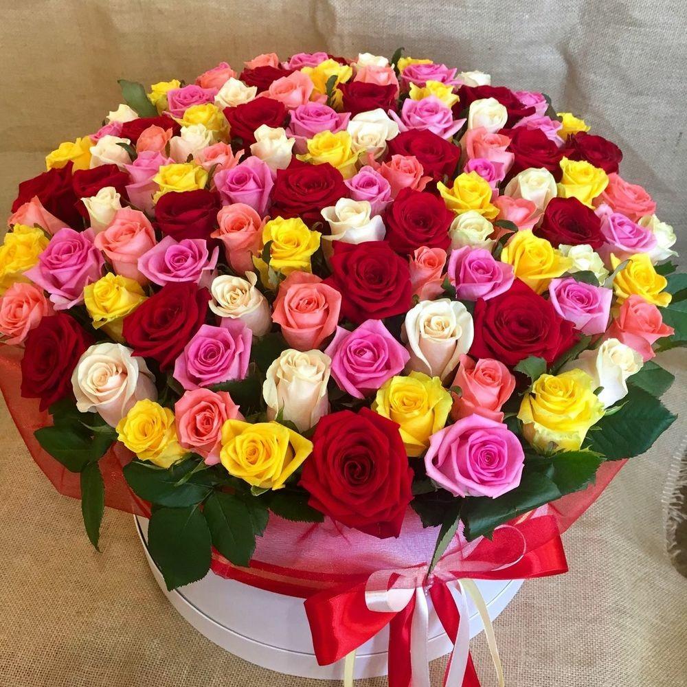 Как лучше подарить розы
