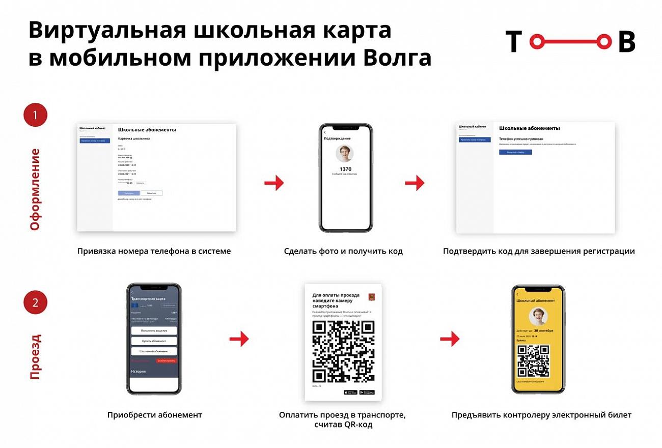 В Тверской области учащиеся смогут ездить в общественном транспорте по виртуальной школьной карте