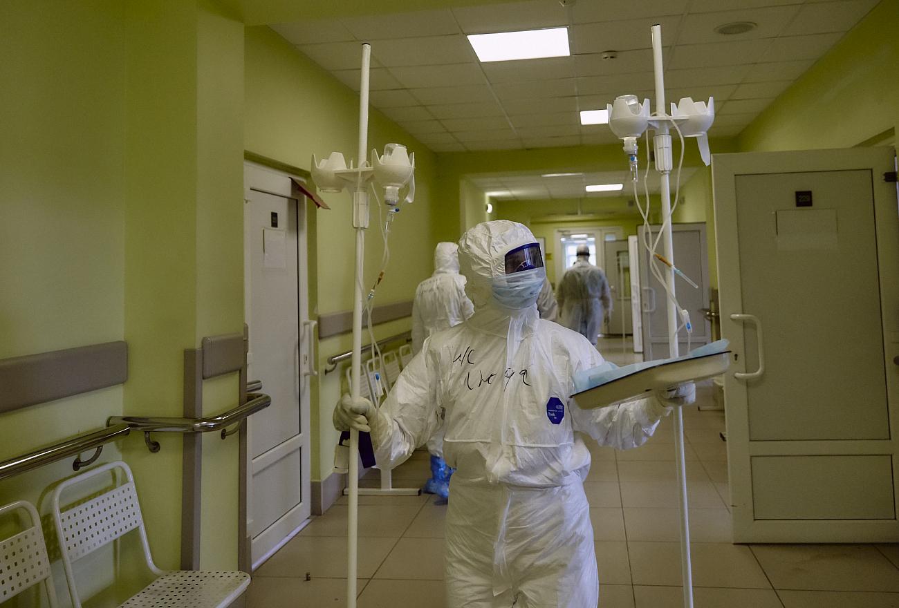 Московские врачи приехали в Тверь, чтобы помочь лечить пациентов с коронавирусом