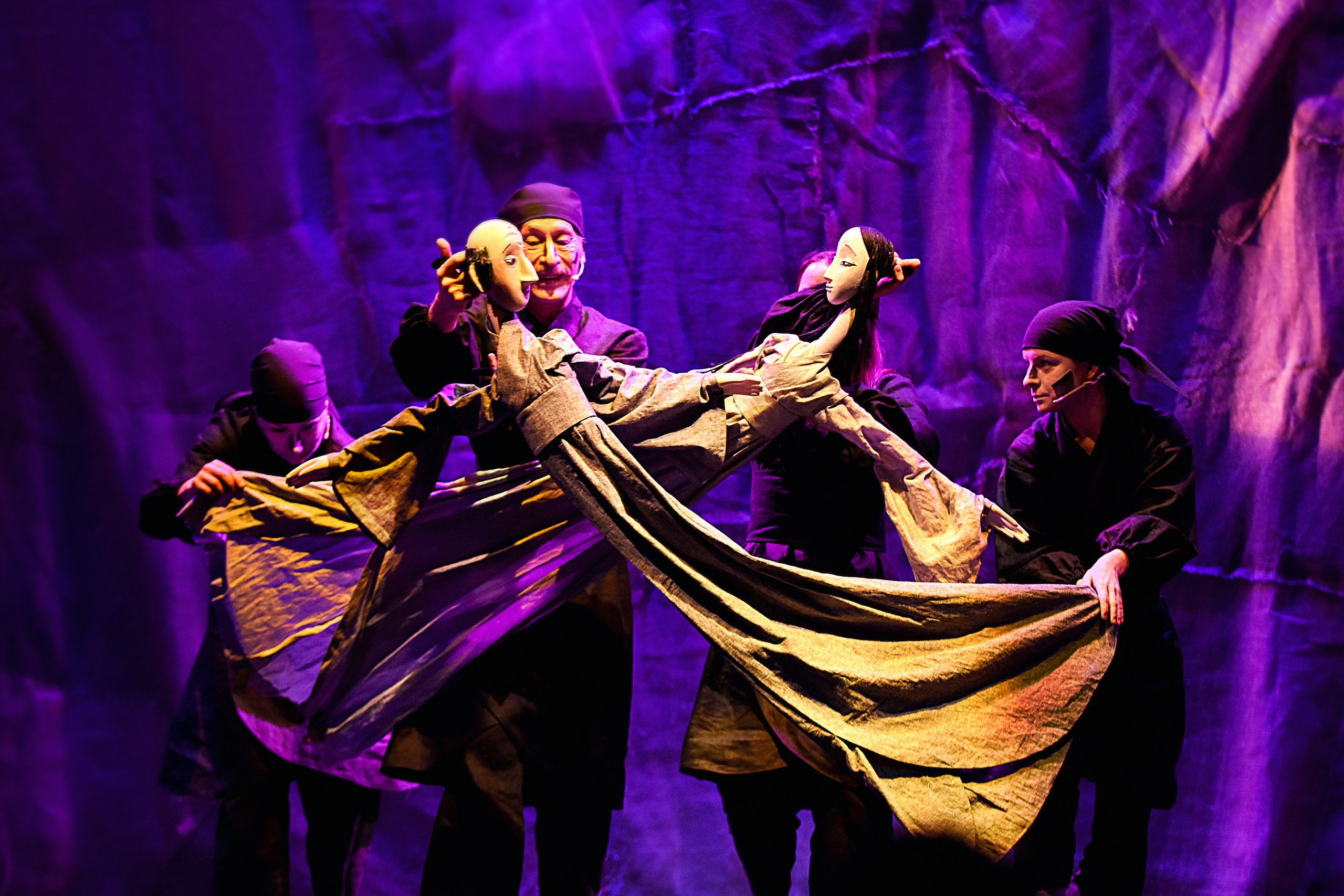 На выходных Тверской театр кукол покажет три спектакля