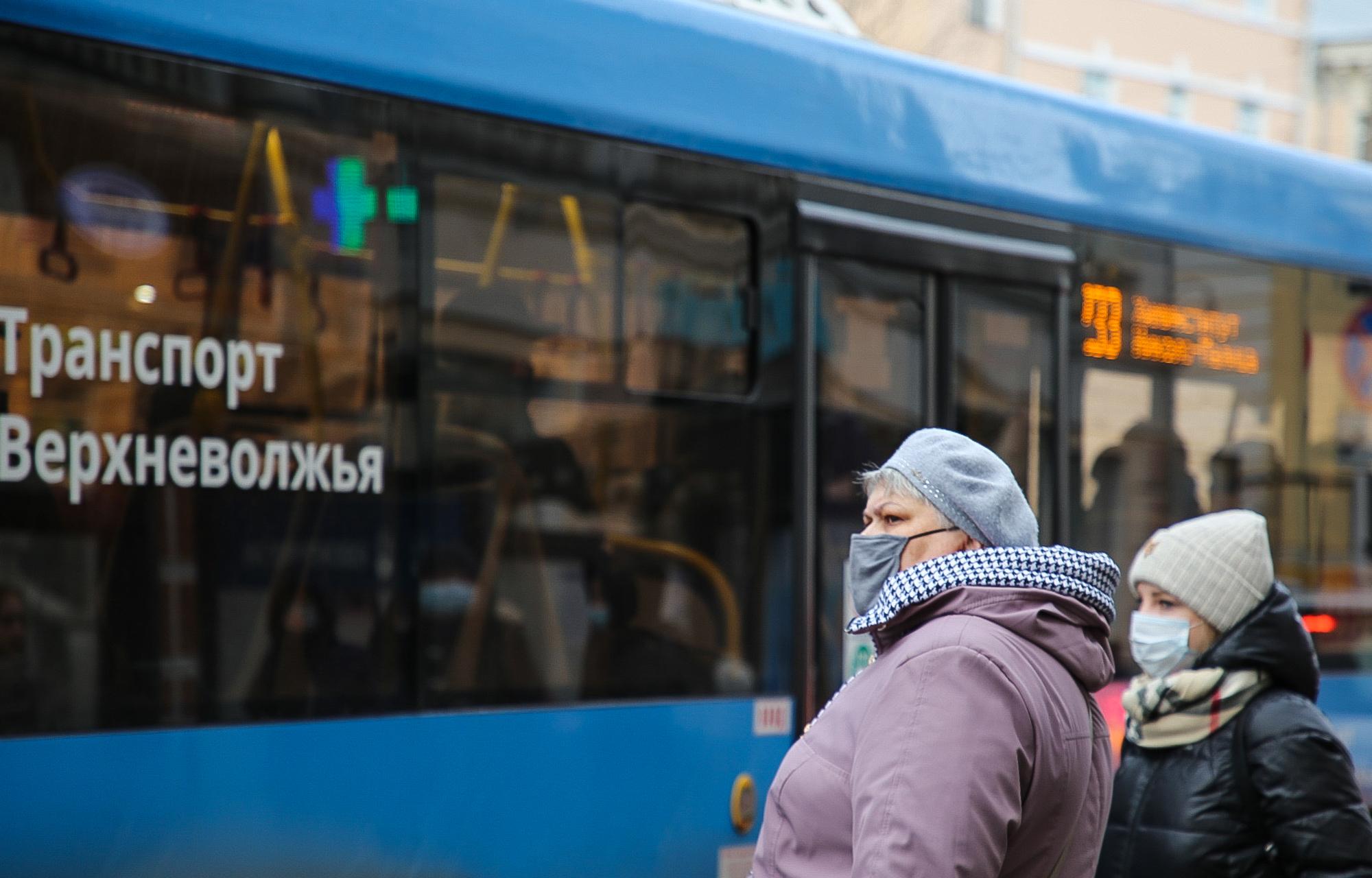 """В """"Транспорте Верхневолжья"""" бесплатно раздадут 13 тысяч защитных масок"""