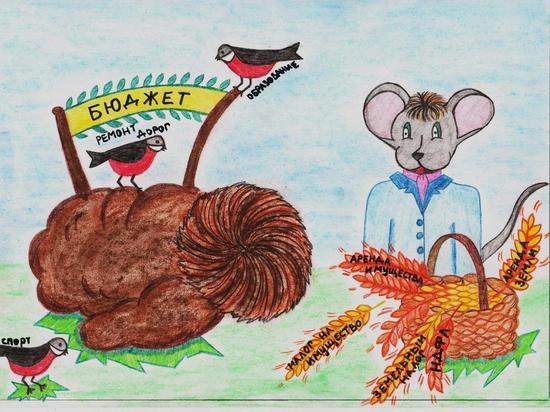 Оленинский школьник принял участие в конкурсе рисунков, посвященном теме бюджета