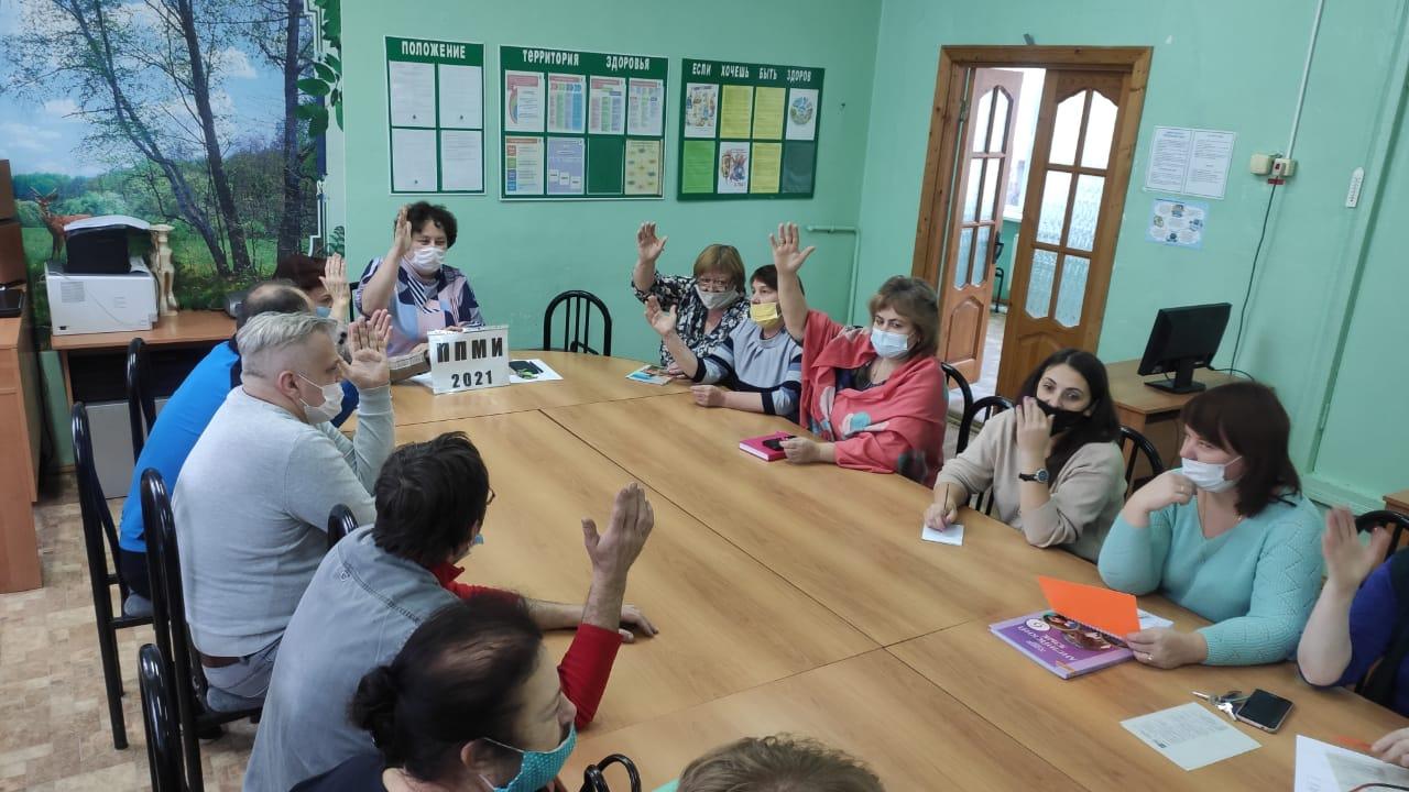 В Жарковском районе обсудили проекты для участия в Программе поддержки местных инициатив