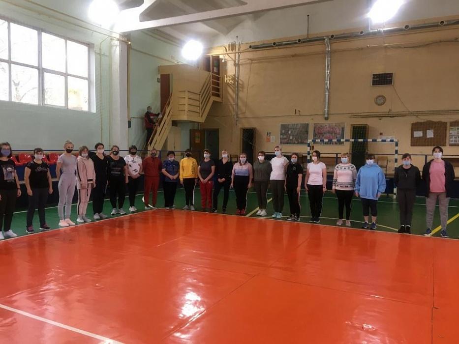 В Калязинском районе воспитатели и библиотекари сдавали нормы ГТО