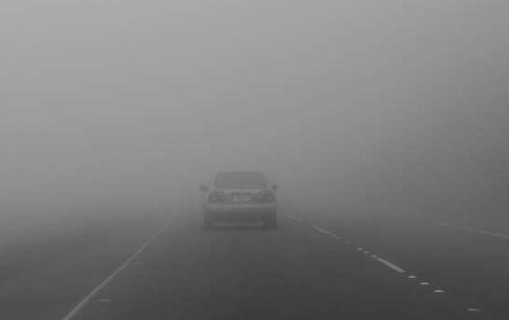 Из-за тумана в Тверской области объявлено экстренное предупреждение