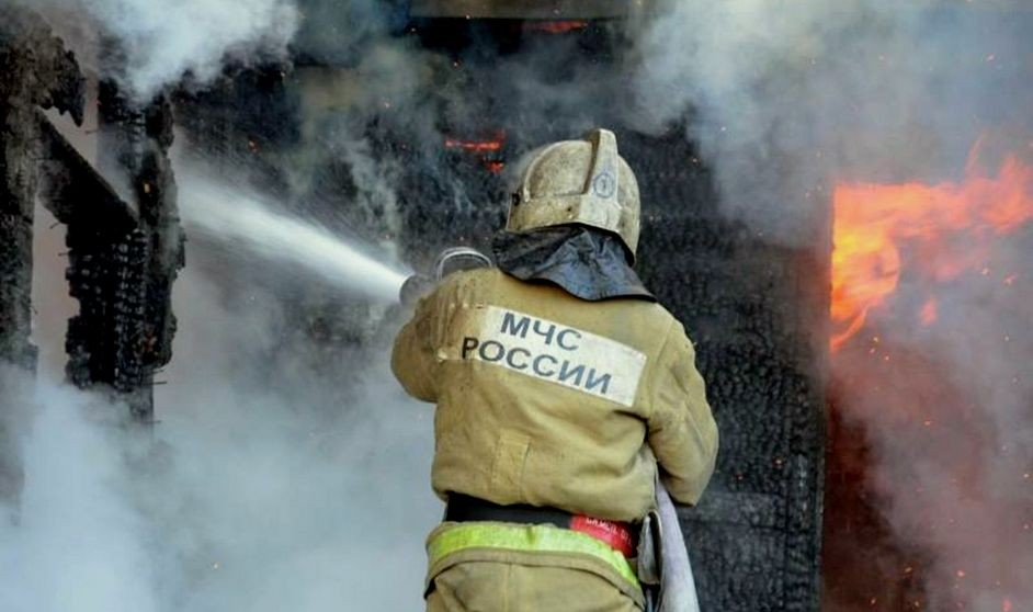 На пожаре в Тверской области получила ожоги женщина