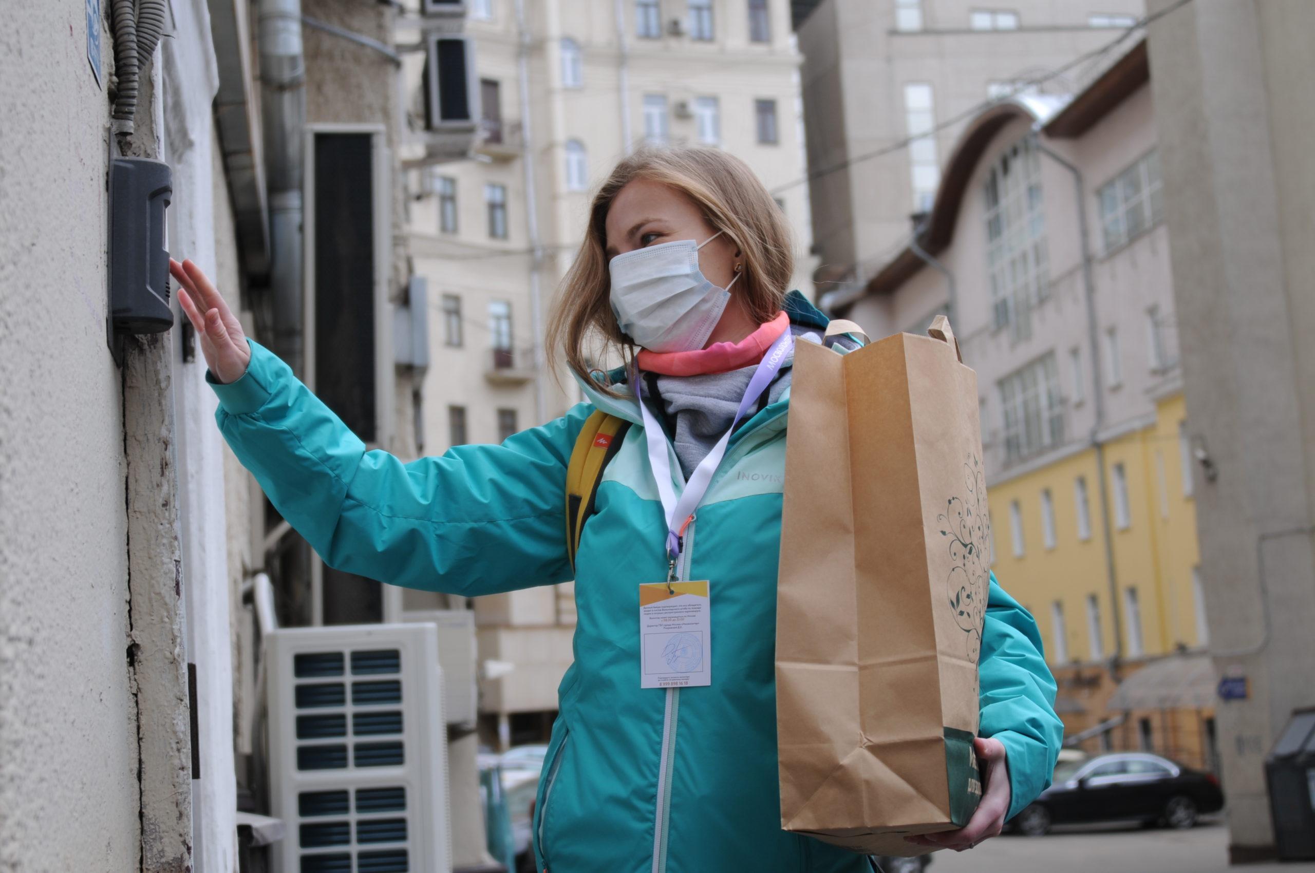 Волонтеры Тверской области доставят продукты пенсионерам