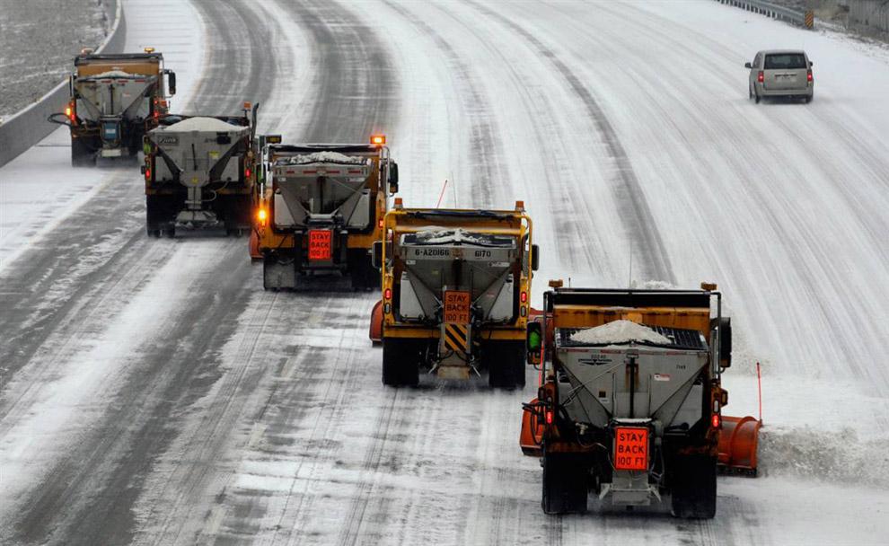 Дороги Тверской области перевели на зимний режим