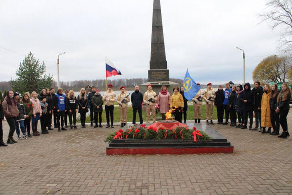 В Тверской области молодёжь присоединилась к патриотической акции «Вперёд, к Победе!»