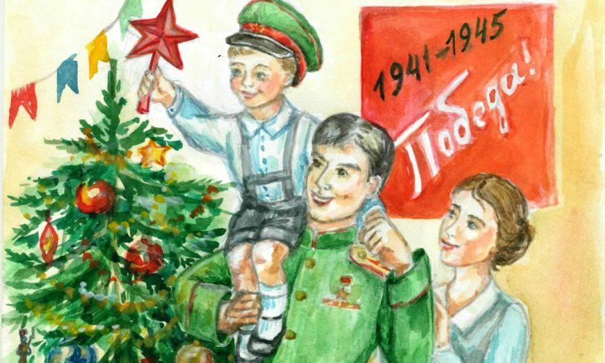 Тверские школьники участвуют во всероссийском конкурсе «Нарисуй «Елку Победы»