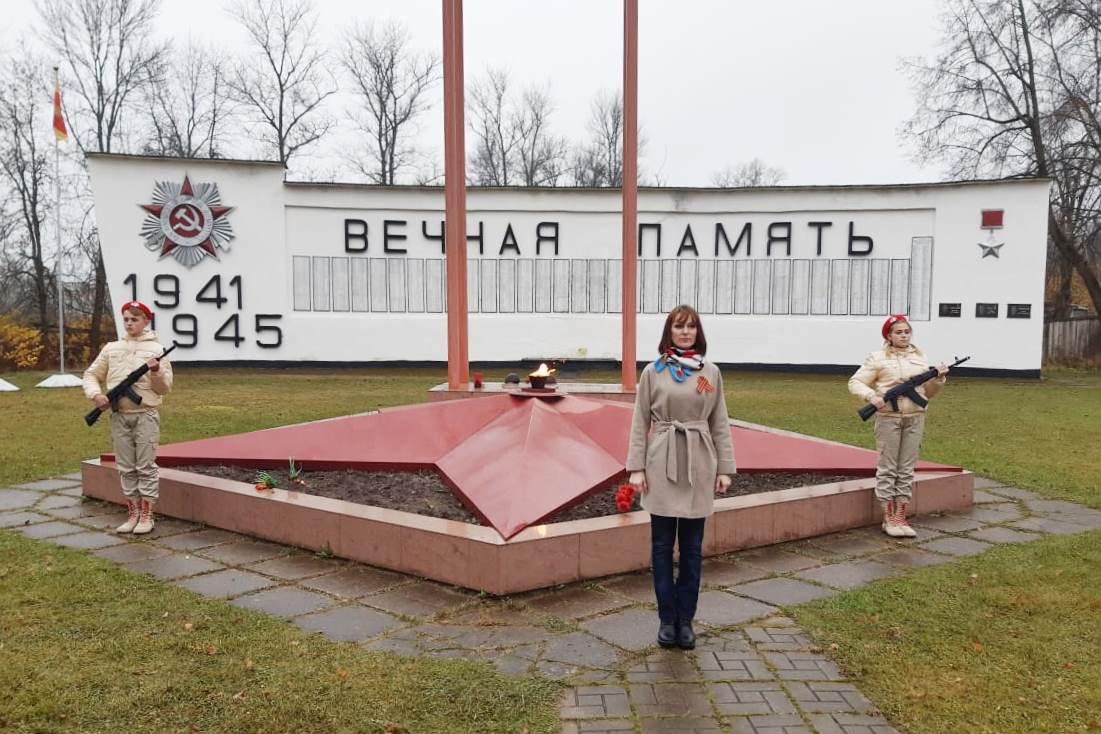 В Нелидово отметили день воинской славы