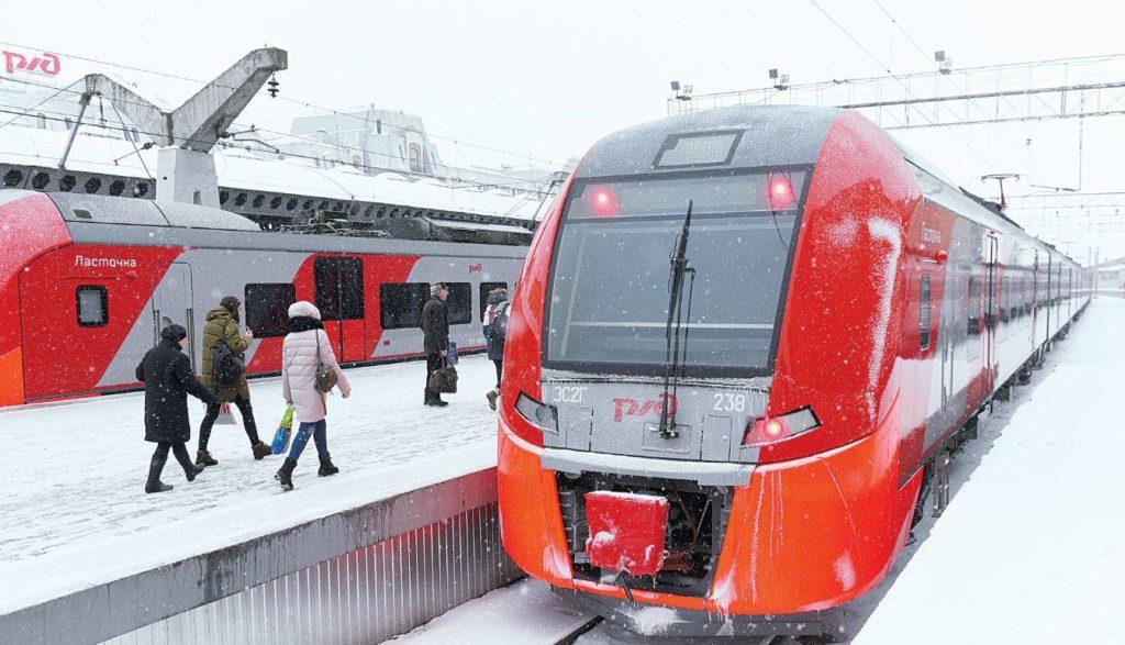 С началом зимы у электричек Тверской области изменится расписание