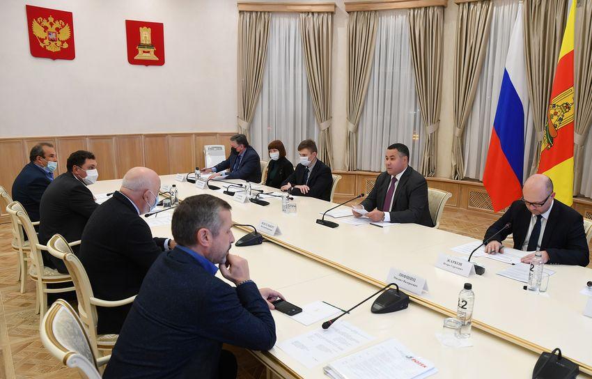 Игорь Руденя и Виктор Вексельберг обсудили реализацию проекта «Оздоровление Волги»