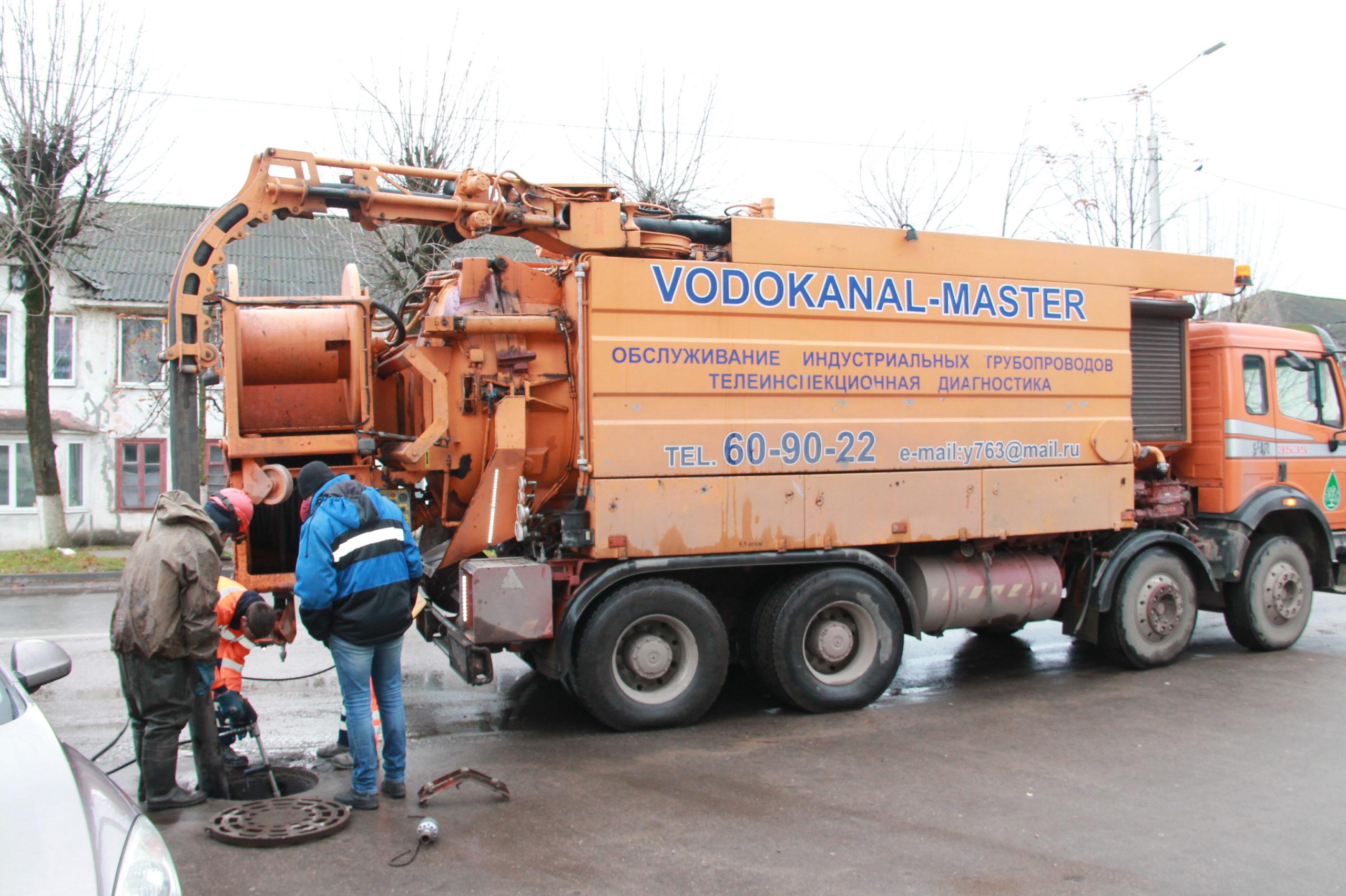 В Нелидово очистят системы отвода сточных вод