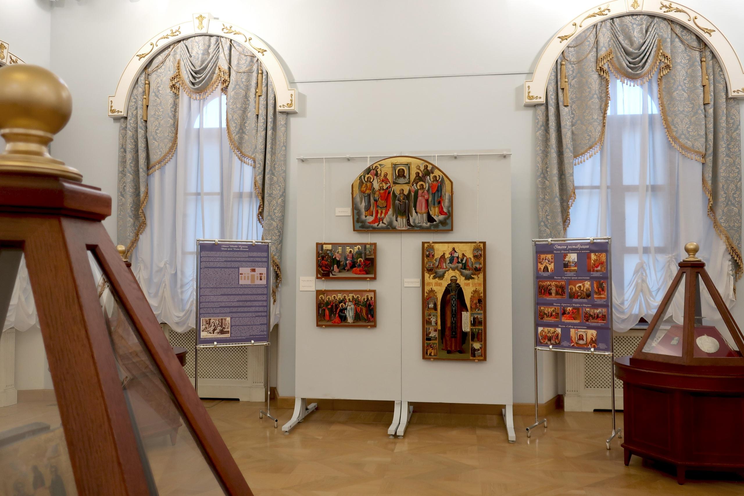 В Твери открылась выставка икон из цикла «Страницы реставрации»