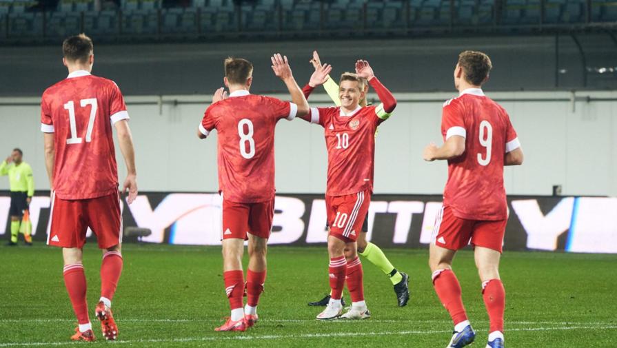Молодежная сборная России сыграла вничью со Словенией
