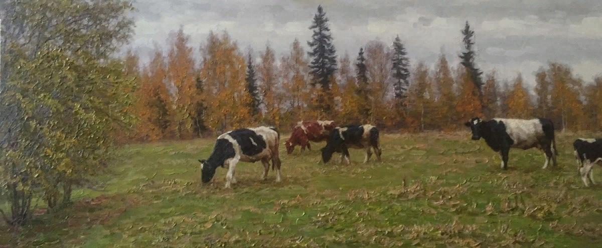 В Вышнем Волочке открылась выставка потомственного живописца