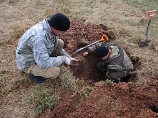 В Тверской области нашли останки бойца 133 стрелковой дивизии