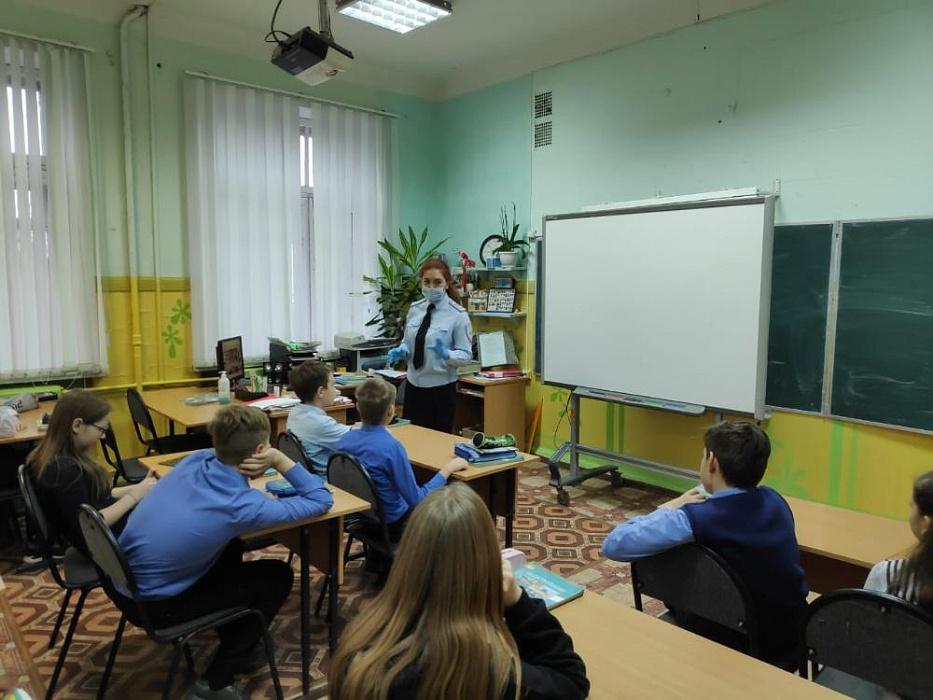 В бологовской школе прошло мероприятие «Соблюдай ПДД!»