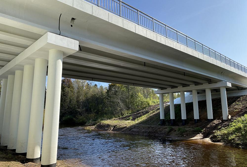 Мост через реку Береза отремонтировали в Тверской области