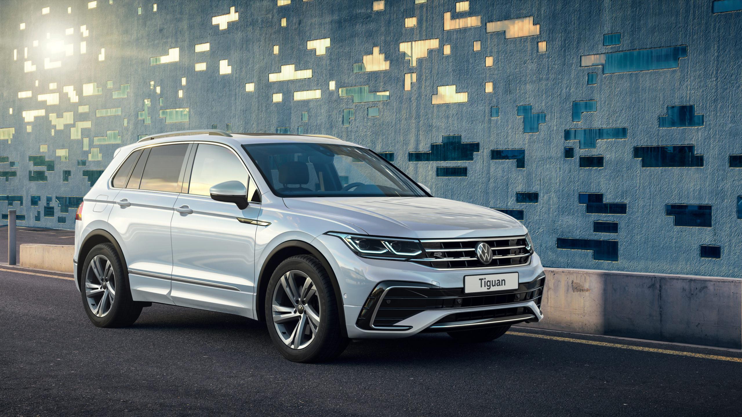 НовыйTiguanв России: Volkswagenпредставляет улучшенную версию любимой модели