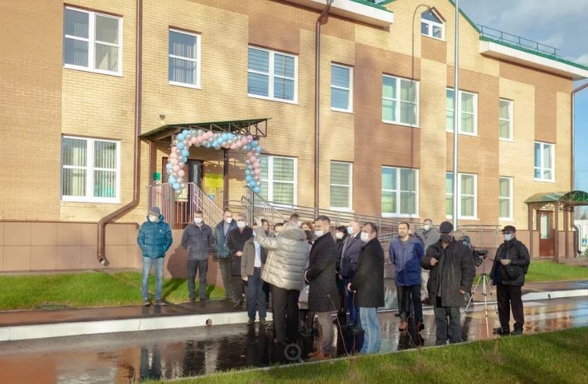 В Тверской области открылся новый экологичный детский сад