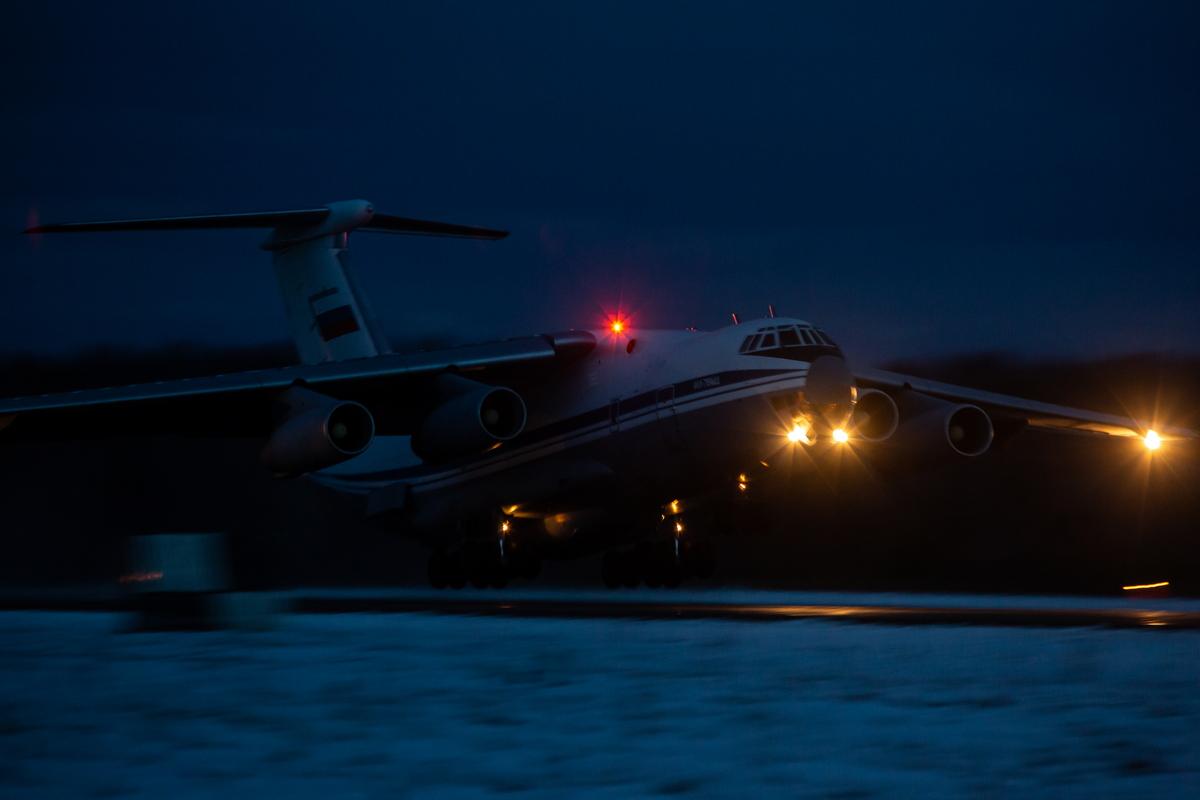 В Твери прошли ночные учения лётчиков
