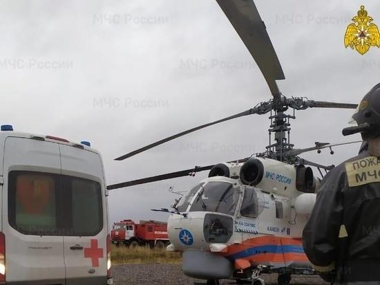 Вертолет санавиации дважды вылетал на экстренные вызовы в Тверскую область за один день