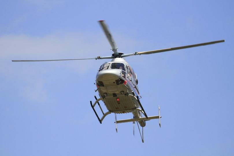 Вертолет санавиации доставил в Тверь тяжелобольную женщину