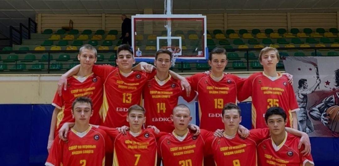Тверские юниоры одержали первую победу на Первенстве России по баскетболу