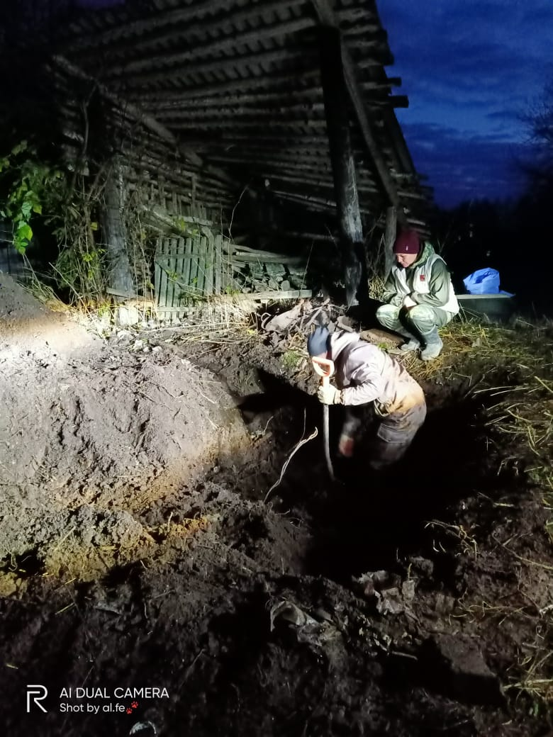 В Тверской области расстрелянных красноармейцев помогла найти немецкая аэрофотосъемка