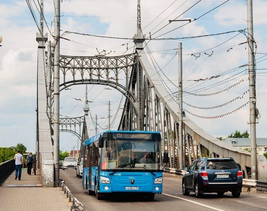 В Твери по ночам будут перекрывать Старый Волжский мост
