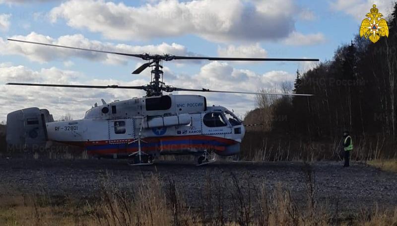 Санавиация пришла на помощь пациенту Бежецкой ЦРБ
