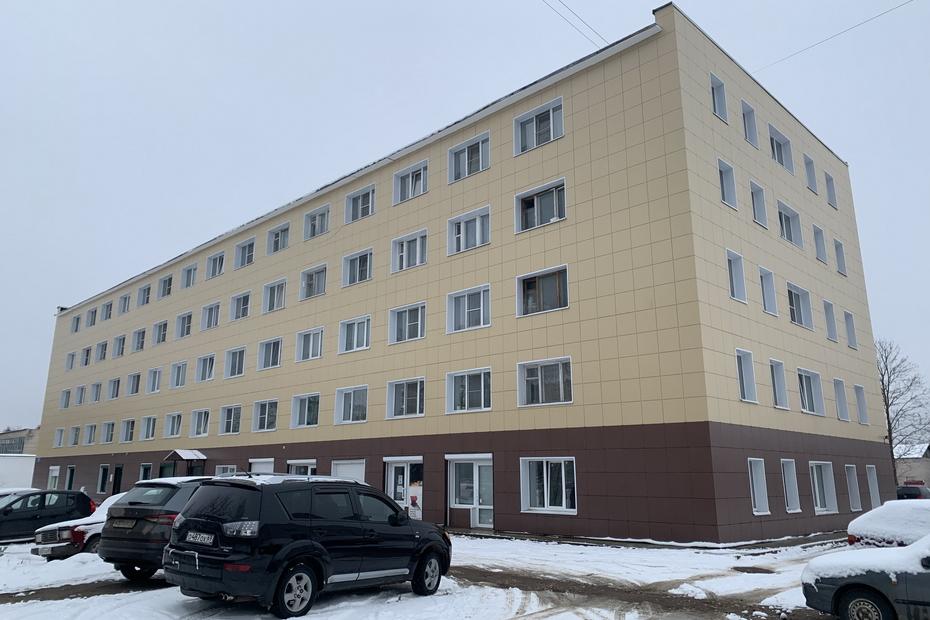 В Лихославльском районе капитально отремонтировали фасады домов