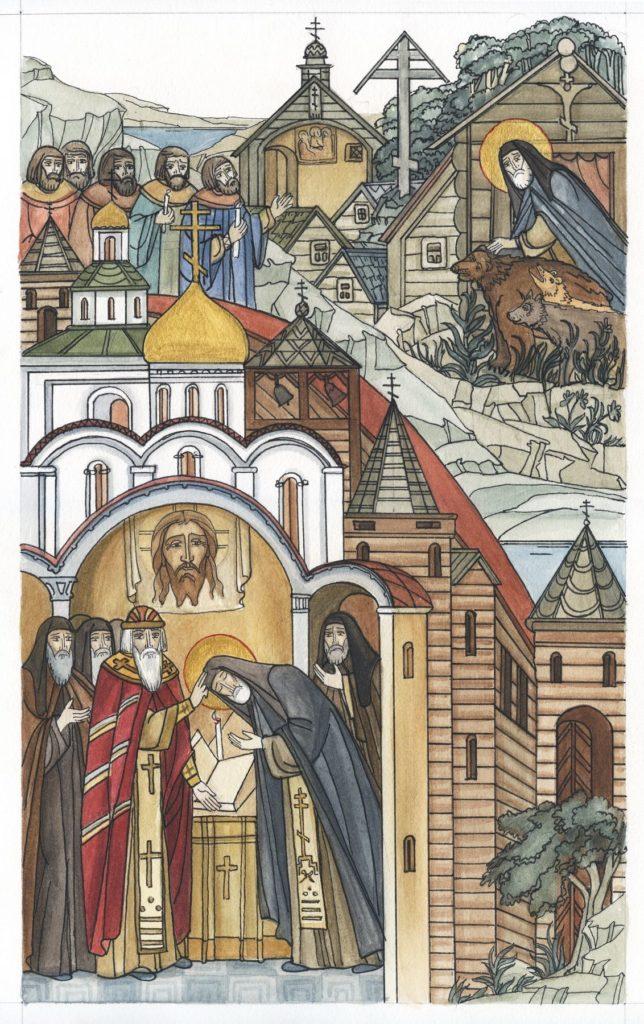С 6 по 8 июня в регионе пройдут празднования 500-летнего юбилея обретения мощей святого преподобного Макария Калязинского
