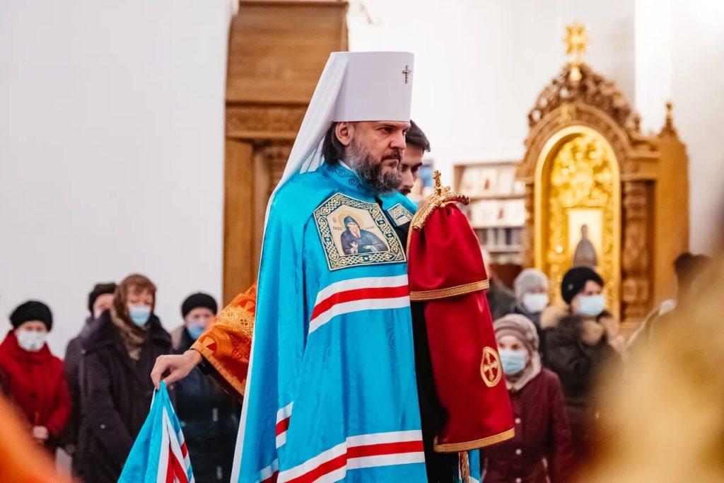 В Твери состоялась божественная литургия в честь небесного покровителя города